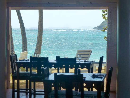 Sugar Reef Bequia: lovely view for breakfast