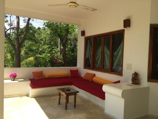 Lounge Ecke Auf Unserer Terrasse Bild Von Jaluwella Garden Rekawa