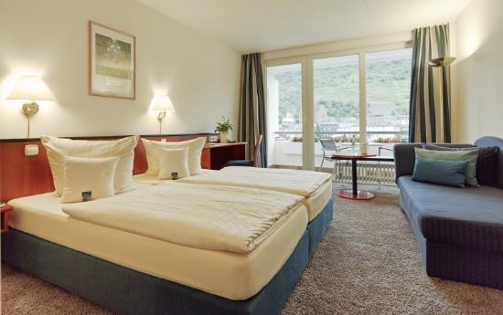 Hotel Karl Müller: Zimmer zur Moselseite mit Balkon