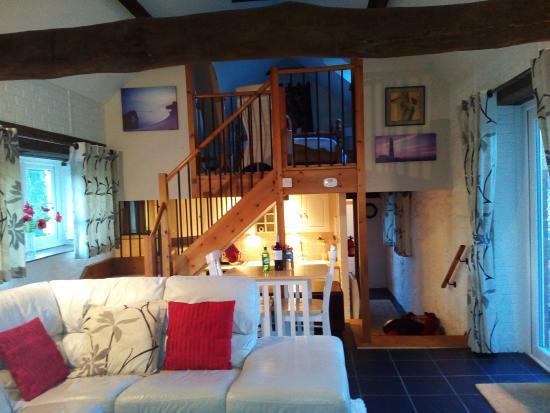 Frampton, UK: Living Room