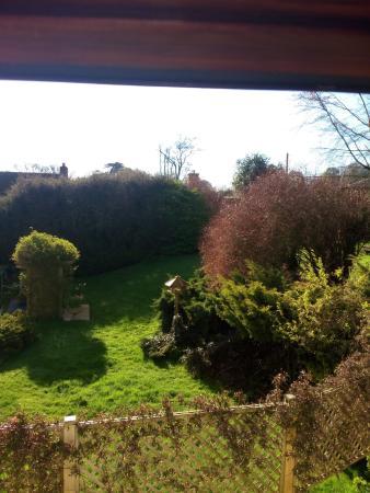 Frampton, UK: View from the bedroom dormer window