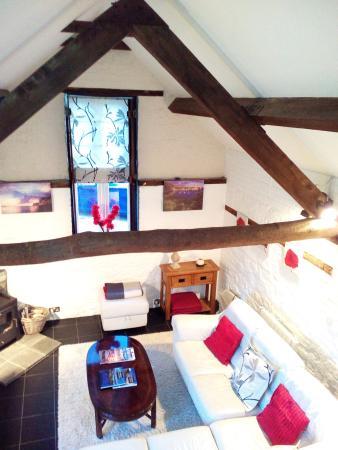Frampton, UK: Living room from the bedroom