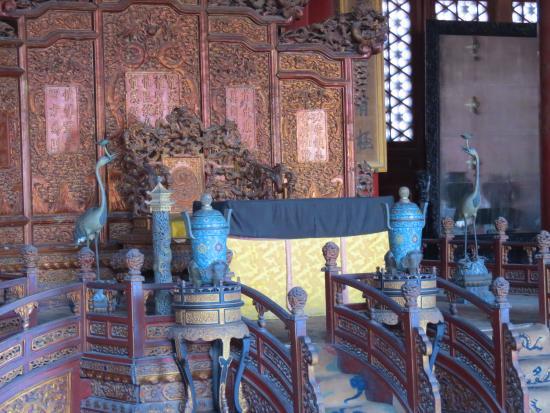 Palace of Heavenly Purity : Интерьеры дворца Небесной Чистоты.