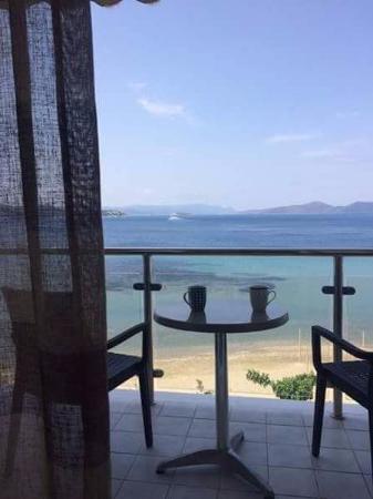 Styra, Griechenland: Φοβερη θέα από το δωματιο