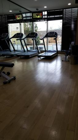 Flora Park Deluxe Hotel Apartments: small gym
