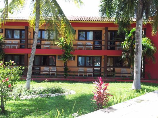 Hotel Praia do Muta: Vista dos quartos.