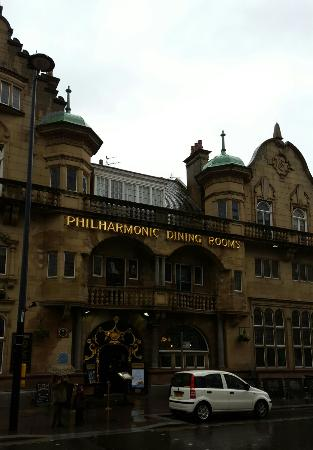 The philharmonic dining rooms liverpool