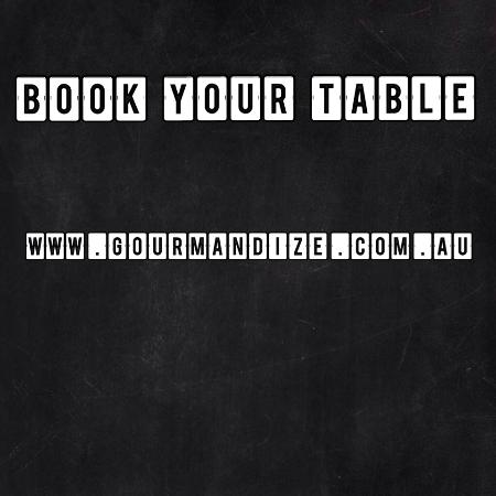 Caloundra, Australia: Book your table at www.gourmandize.com.au
