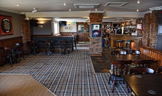 Gretna Green, UK: Public bar