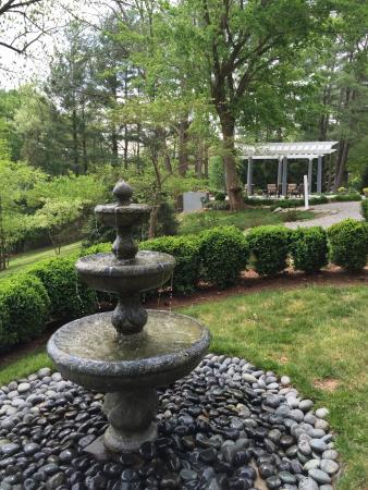 Biltmore Village Inn: View from the Garden