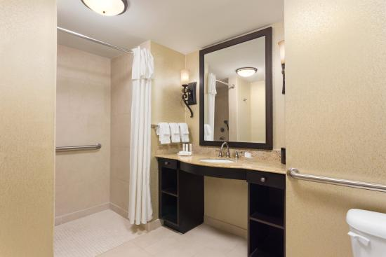 Homewood Suites by Hilton Lafayette-Airport, LA: Accessible Bathroom