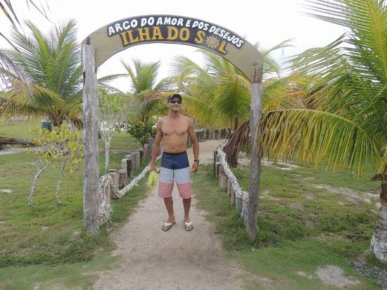 Санта-Крус-Кабралия: Ilha do Sol