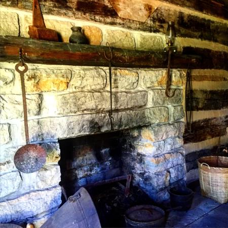 Franklin, TN: The kitchen at Carter house