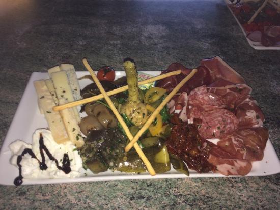 Casa di Paolo : Voici quelques plats de la nouvelle carte