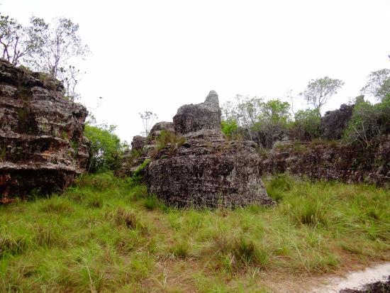 San Jose del Guaviare, Colombia: Formaciones de la Ciudad de Piedra