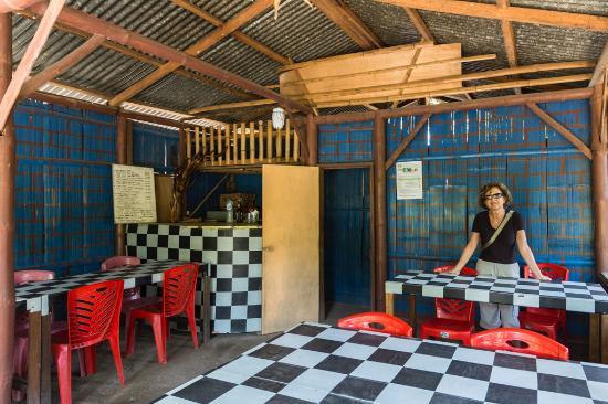 Cibal, Indonesia: Il semplice interno