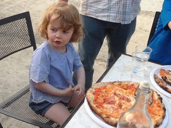 Montespertoli, İtalya: Kids pizza night