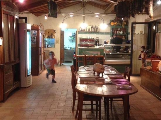 Montespertoli, Italia: Restaurant