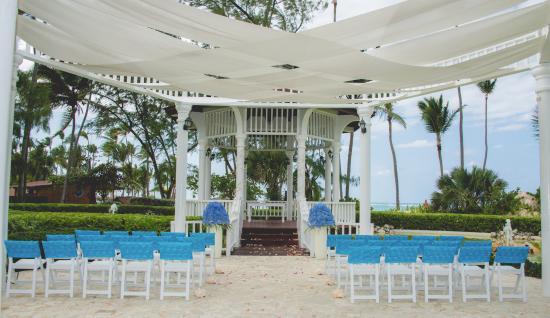 Grand Palladium Punta Cana Resort Spa Wedding Gazebo