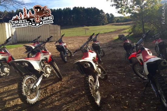 Bethany, แคนาดา: Trail Tours Dirtbike / ATV School