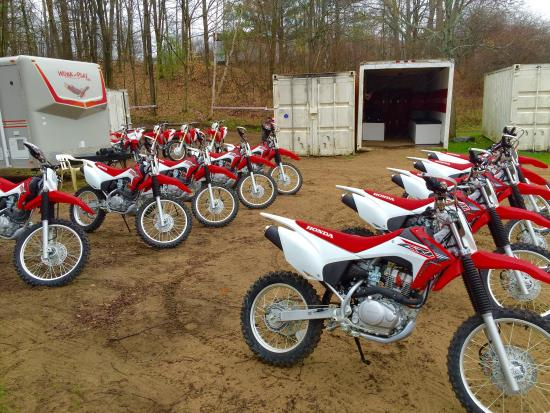Bethany, Canada: Trail Tours Dirtbike / ATV School