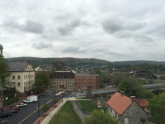 Historic Hotel Bethlehem: View from room 422.