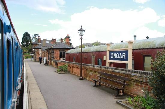 Chipping Ongar, UK: Epping Ongar Railway