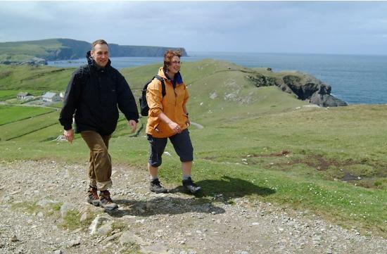 Glencolmcille, Ierland: Great Hillwalking