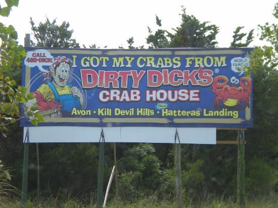 Dirty dicks hatteras