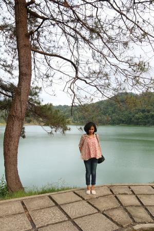 Tomohon, Endonezya: Danau Linow