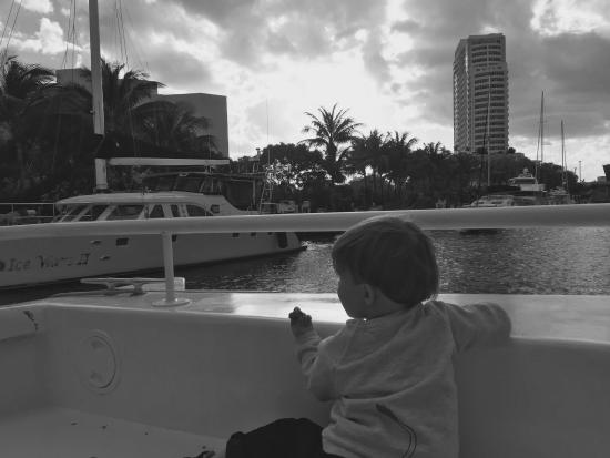 Riverfront Cruises: Our son loved the boats!