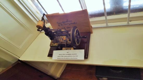 Julius Gordon Africana Centre: Antique sewing machine