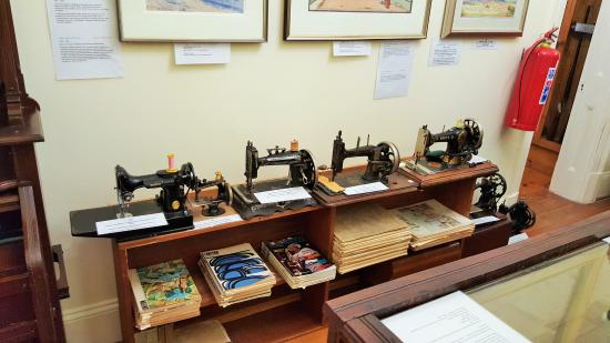 Julius Gordon Africana Centre: Generations of sewing machines