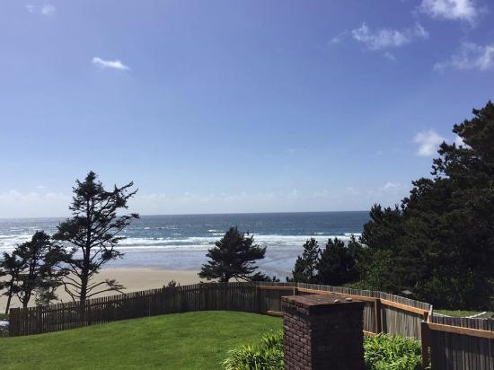 Agate Beach Motel: Beautiful view from our room
