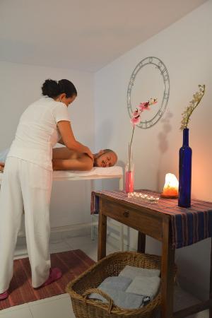 Jardin Azul : Sala para masajes