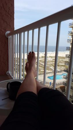 Perdido Beach Resort Angle View Room