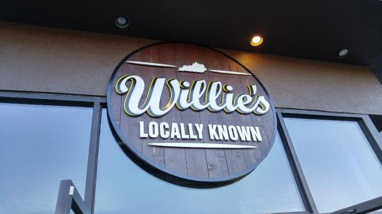 Willie's Locally Known: Sign