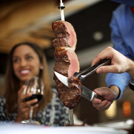 Fogo de Chão Brazilian Steakhouse: New Gaucho Lunch Menu Starting at $15. Monday – Friday.