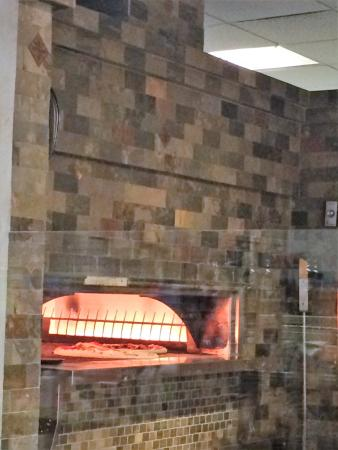 Anthony's Food Shop: really cool pizza oven that they have