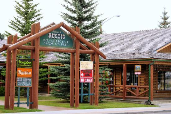 Bow Rivers Edge Campground: Market Square