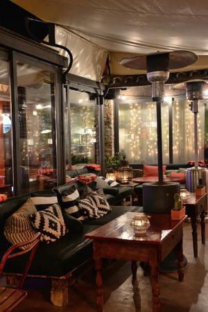 Restaurant Aiguaclara: Fantastic Terrace in Begur