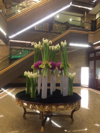 Central Hotel Shanghai: Hall do Hotel