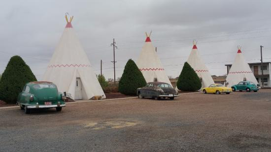 Wigwam Motel: Keep up nicely