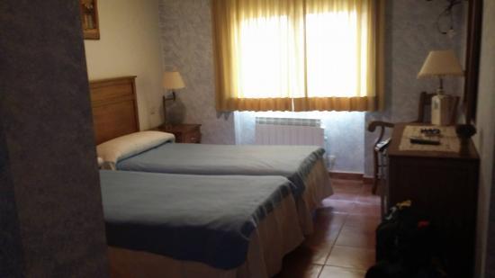 El Caseron de Trastamara : Habitación doble con dos camas.