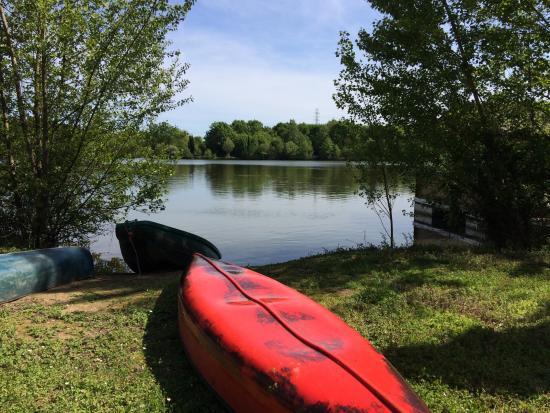 Sablons, Francia: Autour du lac