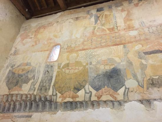 Pinturas Ermita de San Miguel de Gormaz