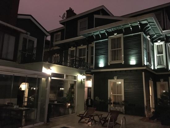 la bellissima struttura tipica dell hotel - Picture of Hayriye Hanim ... e24c69a4649