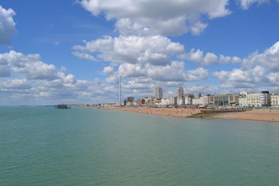 Brighton Beach: Playa des del Pier