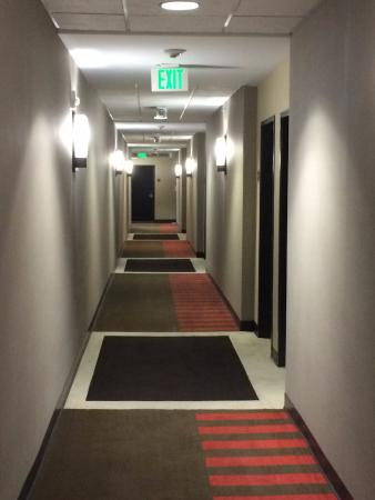 Four Points by Sheraton Las Vegas East Flamingo: Corridor to the rooms.