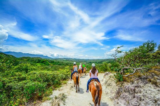 Horseback Riding view of Rincon de la Vieja Volcano
